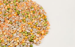 Assorted legumes Royalty Free Stock Image