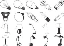 Assorted lights illustration Royalty Free Stock Images