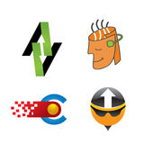 Assorted Logos Royalty Free Stock Image