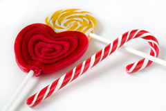 Assorted lollipops Royalty Free Stock Image