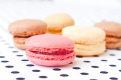 Assorted macaroon Stock Image