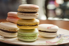 Assorted macaroons Royalty Free Stock Photography