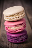 Assorted macaroons vintage Royalty Free Stock Images