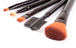 Assorted makeup blush Royalty Free Stock Photography