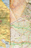 Assorted maps. Different countries assorted with several maps royalty free stock images