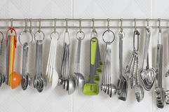 Assorted Measuring Spoons Stock Images