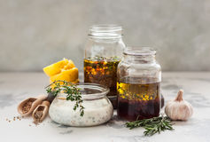 Free Assorted Meat Marinades Royalty Free Stock Photography - 91733517