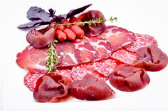 Assorted meats Stock Photo