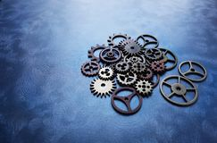 Gears and wheels Royalty Free Stock Images