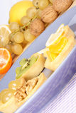 Assorted mini fruit tarts Stock Image