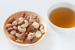 Assorted mixed nuts Stock Images