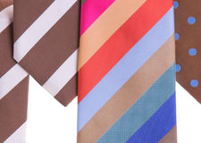 Assorted neckties Royalty Free Stock Image