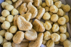 Assorted Nuggets Royalty Free Stock Images