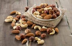 assorted nuts Στοκ εικόνα με δικαίωμα ελεύθερης χρήσης