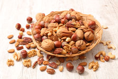assorted nuts Στοκ Φωτογραφίες