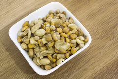 Assorted nuts Stock Images