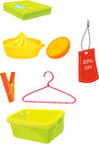 Assorted objects Stock Photography