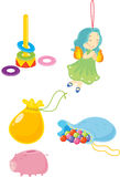 Assorted objects Stock Images