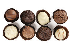 Assorted Of Fine Chocolates Stock Image