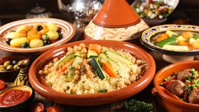 Free Assorted Of Traditional Moroccan Tajine Royalty Free Stock Photo - 167879115