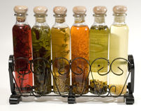 Assorted oils Royalty Free Stock Photo