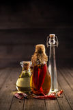 Assorted olive oil Royalty Free Stock Photos