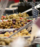 Assorted Olives for Sale Stock Photos