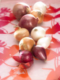 Assorted onions Royalty Free Stock Image