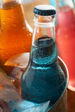 Assorted Organic Blue Craft Sodas Stock Image