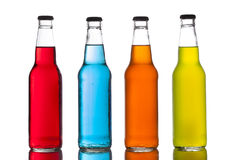 Free Assorted Organic Craft Sodas Royalty Free Stock Photos - 40296138