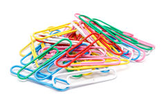 Assorted Paper Clips Stock Photos