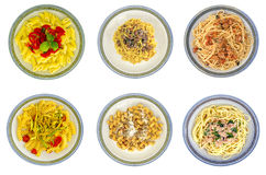 Assorted pasta Royalty Free Stock Photo