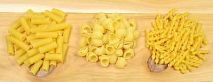 Assorted pasta Stock Photo