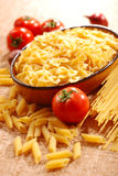 Assorted pasta Stock Images