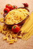 Assorted pasta Royalty Free Stock Photos