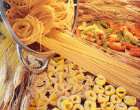 Assorted pasta. Stock Photography