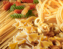 Assorted pasta. Royalty Free Stock Photography