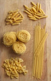 Assorted Pastas Stock Photography