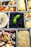 Assorted pastas Stock Photo