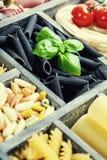 Assorted pastas Stock Image