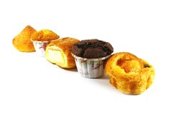 Assorted Pastries and Cakes Royalty Free Stock Photography