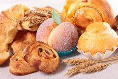 Assorted pastry Stock Image