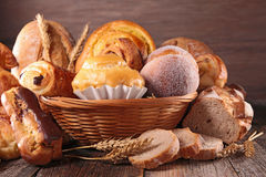 Assorted pastry Royalty Free Stock Photos