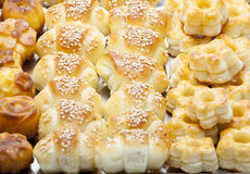 Assorted pastry Stock Photography