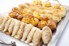 Assorted pastry Stock Images