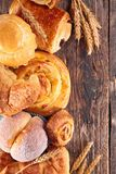 Assorted pastry Royalty Free Stock Images