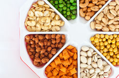 Assorted Peanuts Royalty Free Stock Photography