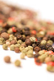 Assorted peppercorns Stock Photo