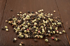 Assorted peppercorns Royalty Free Stock Photos