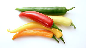 Assorted peppers 1 Stock Photography